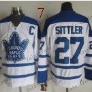 Toronto #27 Darryl Sittler Throwback Vintage Jersey ICE Hockey Jerseys Heritage Stitched Style 1