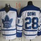 Toronto #28 Tie Domi Throwback Vintage Jersey ICE Hockey Jerseys Heritage Stitched Style 1