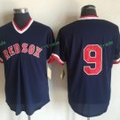 Boston Red Sox #9 Ted Williams Blue Sitched Jerseys
