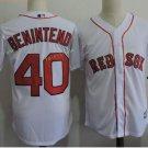 Boston Red Sox #40 Andrew Benintendi White Sitched Jerseys