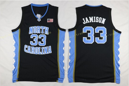 2017 North Carolina Tar Heels College 33 Bright Antawn Black Jersey