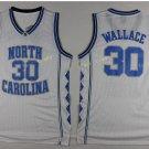 2017 North Carolina Tar Heels College 30 Rasheed Wallace White Jersey