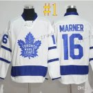 Toronto Maple Leafs #16 Mitchell Marner White 2017 Hockey Jerseys Ice Winter Jersey All Stitched