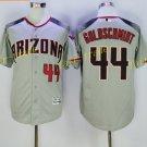 Vintage 44 Paul Goldschmidt Jersey Gray Arizona Diamondbacks Baseball Goldschmidt Style 1