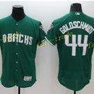 Vintage 44 Paul Goldschmidt Jersey Green Arizona Diamondbacks Baseball Goldschmidt