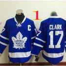 toronto maple leafs #17 wendel clark 2016 Hockey Jerseys Ice Winter Jersey All Stitched