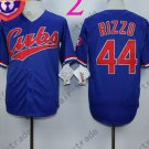 Anthony Rizzo Jersey Chicago Cubs 44# Baseball Jersey, Stitched High Quality Blue Style 2