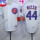 Anthony Rizzo Jersey Chicago Cubs 44# Baseball Jersey, Stitched High Quality White Style 3