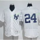 New York Yankees #24 Gary Sanchez White Flexbase Stitched Jersey Style 4
