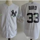 New York Yankees #33 Greg Bird White Flexbase Stitched Jersey Style 1