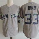 New York Yankees #33 Greg Bird Gray Flexbase Stitched Jersey
