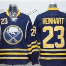 buffalo sabres #23 sam reinhart 2015 Ice Winter Jersey Black Hockey Jerseys Authentic Stitched