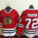 2016 Stadium Series Chicago Blackhawks Jerseys Red #72 Artemi Panarin Blackhawks Jersey Stitched