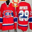 Stitched Montreal #29 Ken Dryden Red winter classic Ice Hockey Jersey
