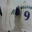 Arizona Diamondbacks #9 Matt Williams Throwback Retro Stitched Jersey