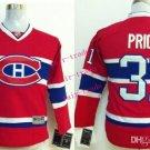 Canadiens #31 Carey Price Red Youth Ice Hockey Jerseys Kids Boys Stitched Jersey Size S/M L/XL