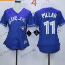 women toronto blue jays #11 kevin pillar 2015 Baseball Jersey Rugby Jerseys Authentic Stitched