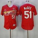 st. louis cardinals #51 Willie McGee Red 2017 Baseball Jerseys