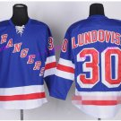 30 Henrik Lundqvist Jersey New York Rangers Stadium Series Winter Classic Jerseys Ice Blue