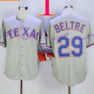 Texas Rangers #29 Adrian Beltre 2015 Baseball Jersey Gray Rugby Jerseys Authentic Stitched