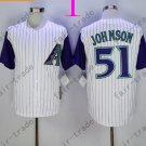 Arizona Diamondbacks #51 Randy Johnson White 2015 Baseball Jersey Authentic Stitched