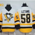 Pittsburgh Penguins  #58 Kris Letang White 2016 Hockey Jerseys Ice Winter Jersey All Stitched