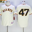 San Francisco Giants 47 Johnny Cueto Jersey Vintage Cool Baseball Jerseys Cooperstown White