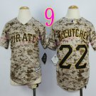 Pittsburgh Pirates Youth Jersey #22 Andrew McCutchen Camo  Kid Jersey