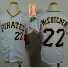 Pittsburgh Pirates Youth Jersey #22 Andrew McCutchen White Kid Jersey