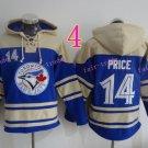 Toronto Blue Jays Hoodie # 14 David Price Blue Stitched Pullover Hoodie Sweatshirt