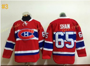 Montreal Canadiens #65 andrew shaw red 2016 Hockey Jerseys Ice Winter Jersey All Stitched