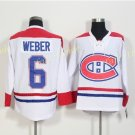 Montreal Canadiens Shea Weber #6 White 2016 Hockey Jerseys Ice Winter Jersey All Stitched