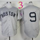 Ted Williams Jersey Gray Cool Base Boston Red Sox Jerseys