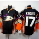 Anaheim Ducks Hockey Jersey Black 2017 Alternate Orange 17 Ryan Kesler Stitched Jersey