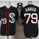 Chicago White Sox #79 Jose Abreu  2015 Baseball Jersey Rugby Jerseys Authentic Stitched