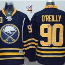 Buffalo Sabres #90 Ryan O'Reilly Throwback Vintage Jersey Black ICE Hockey Jerseys Heritage Stitched