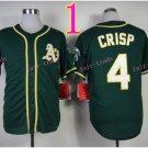 2014 Oakland Athletics Jersey 4 Coco Crisp Green Jerseys