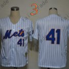 2015 New York Mets #41 Tom Seaver Jersey White Stitched Authentic Baseball Jersey