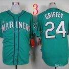 Seattle Mariners Jersey  #24 Ken Griffey Green Jersey Best Jersey Sox