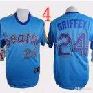 Seattle Mariners Jersey  #24 Ken Griffey  Jersey Best Jersey Sox