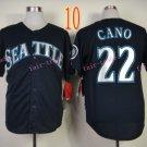 Seattle Mariners Jersey Robinson Cano #22 Blue Baseball Jersey Best Jersey Sox