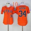 houston astros #34 Nolan Ryan Orange 2016 Baseball Jerseys Authentic Stitched