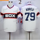 Chicago Cubs #79 jose abreu 2015 Baseball Jersey Authentic Stitched