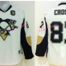Youth Pittsburgh Penguins Hockey Jerseys Home White Alternate Kids 87 Sidney Crosby Jersey