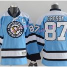 Youth Pittsburgh Penguins Hockey Jerseys Home Blue Alternate Kids 87 Sidney Crosby Jersey
