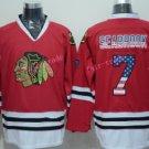 Chicago Blackhawks Jerseys Brent SEABROOK #7 Mens Red USA Flag Stitched Hockey Jersey