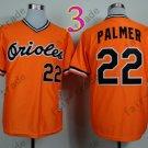 Jim Palmer Jersey Vintage Baltimore Orioles Throwback Jerseys Orange