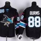sharks #88 brent burns 2015 Ice Winter Jersey Black Hockey Jerseys Authentic Stitched
