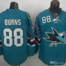 sharks #88 brent burns 2015 Ice Winter Jersey Blue Hockey Jerseys Authentic Stitched