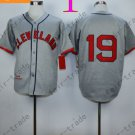 Bob Feller Jersey 1948 Year Hall of Fame Indians Jerseys Gray